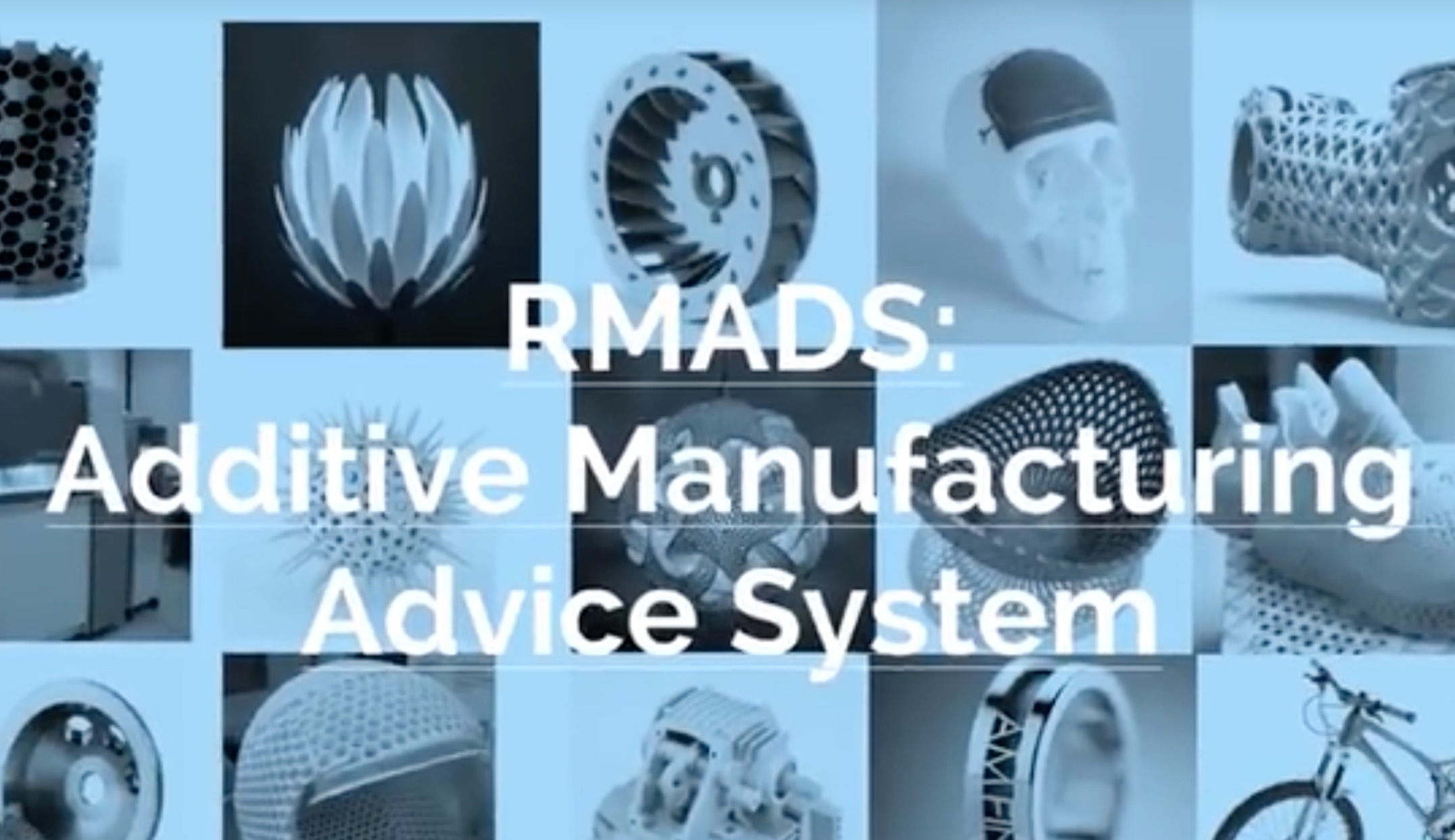 RMADS: Rapid Manufacturing Advice System