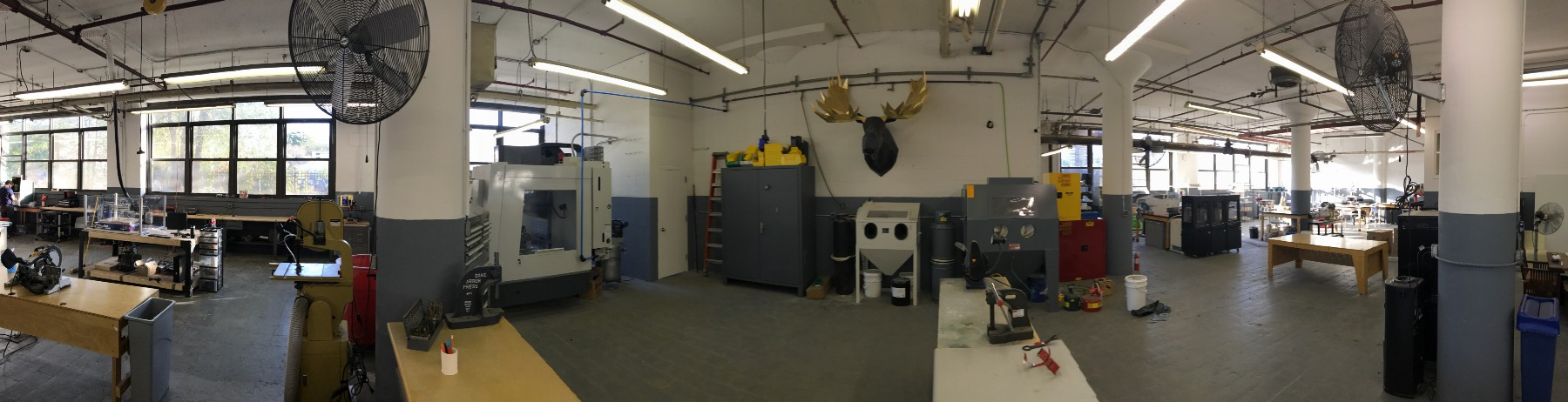 The workshop at Bre & Co