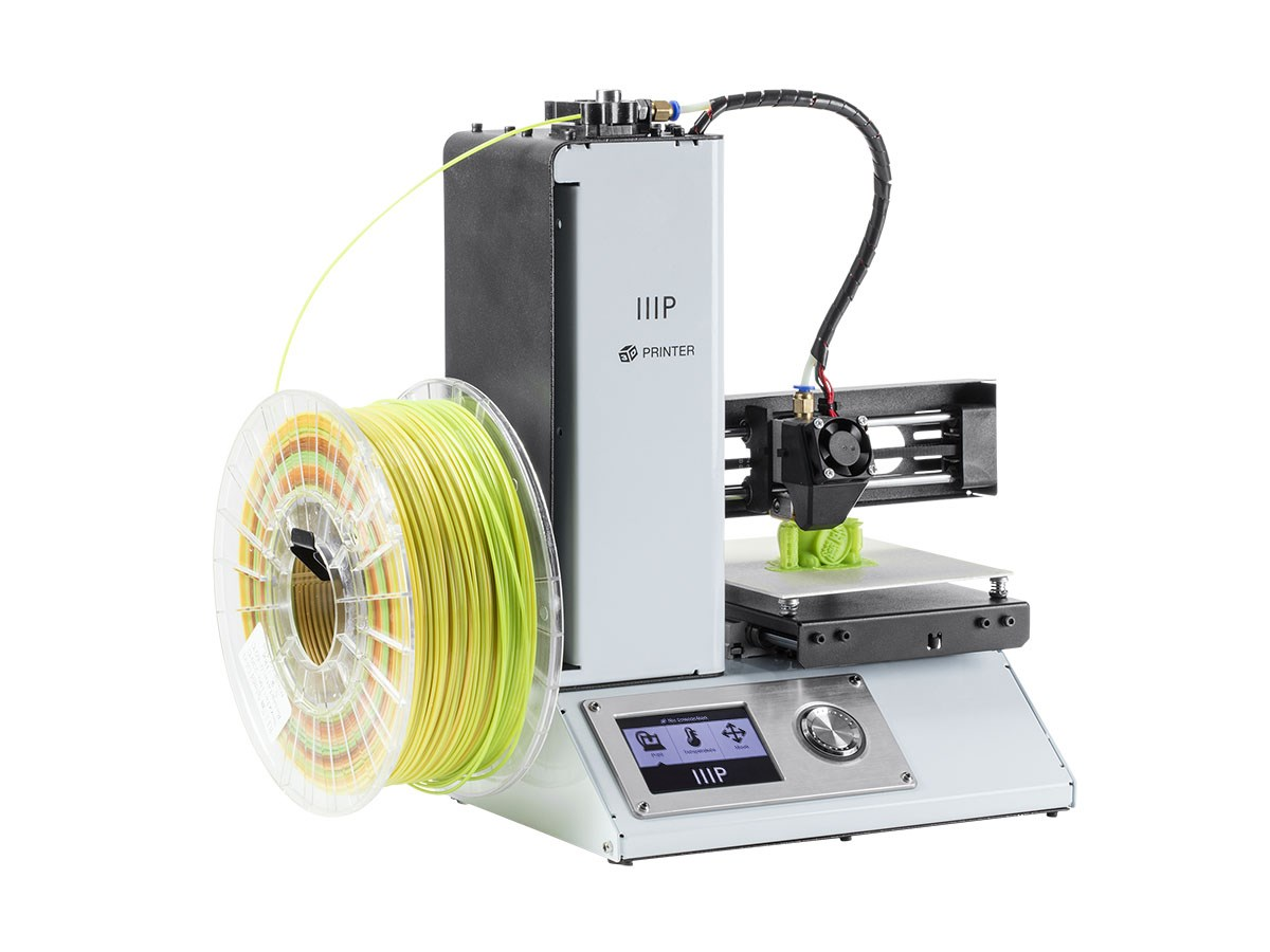 The Monoprice Select Mini Desktop 3D Printer