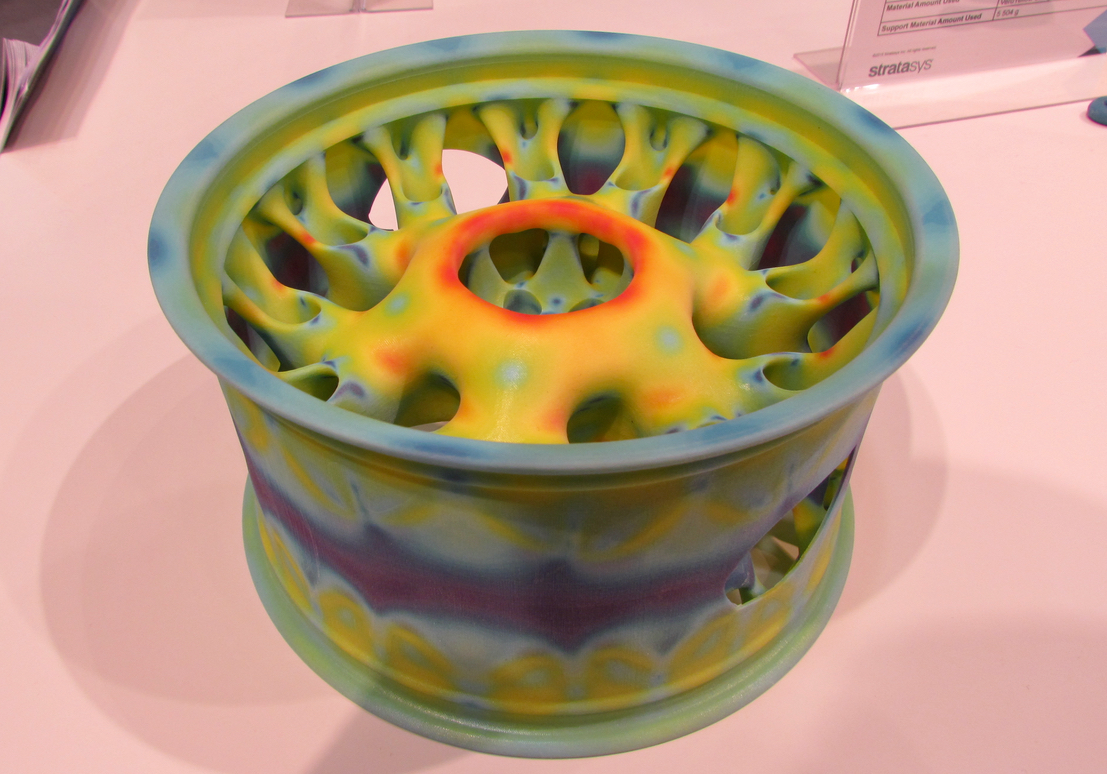 Engineering visualization in physical reality using 3D printing