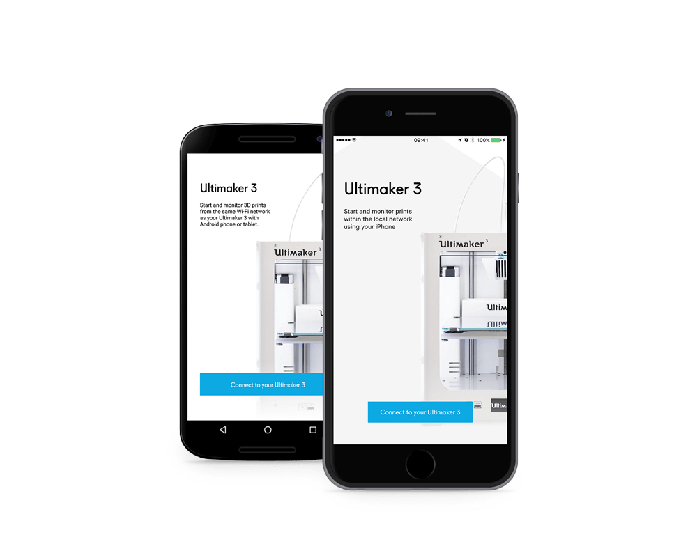 Ultimaker's new remote control 3D printing app