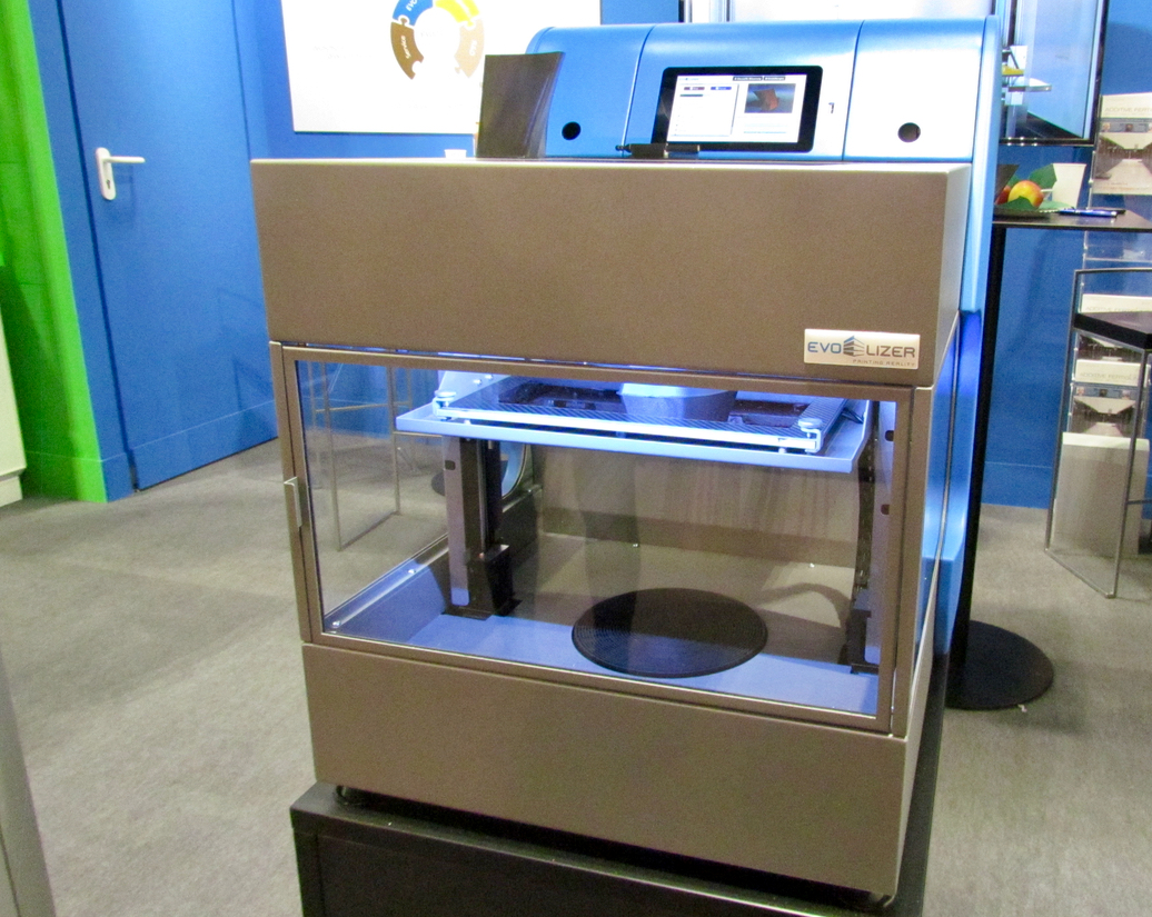 The EVO-lizer professional desktop 3D printer