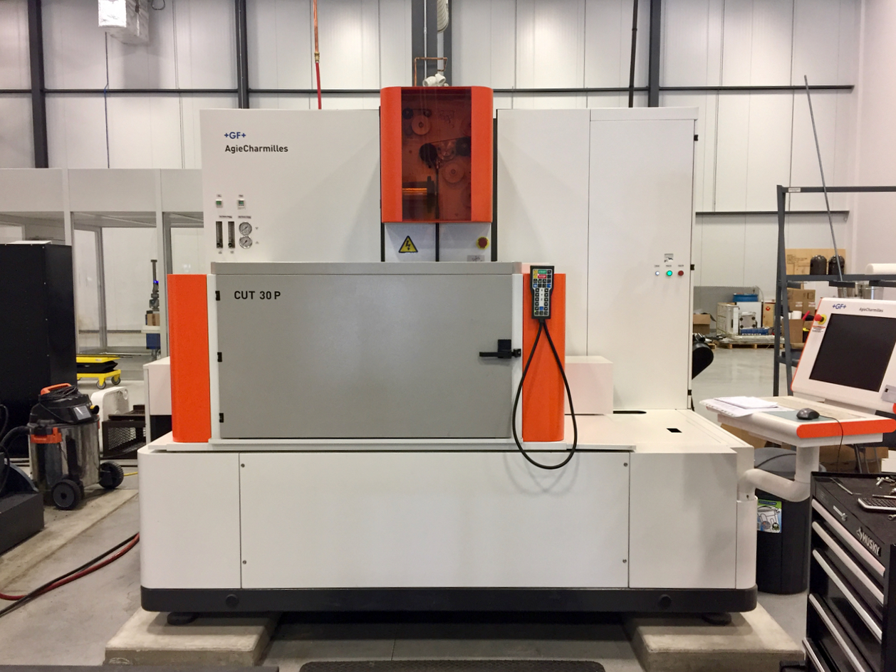Precision ADM's wire EDM machine