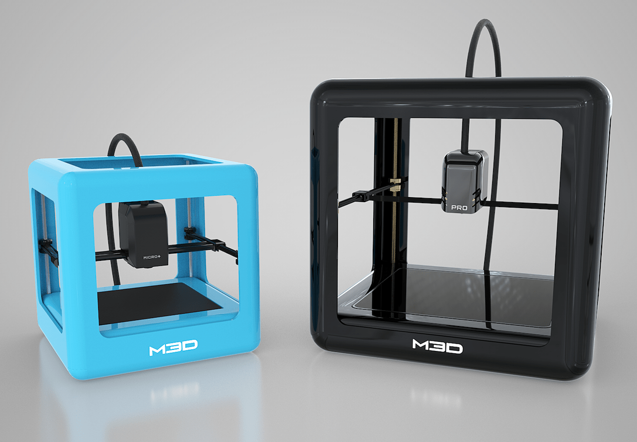 The M3D Pro and M3D Micro+ desktop 3D printers