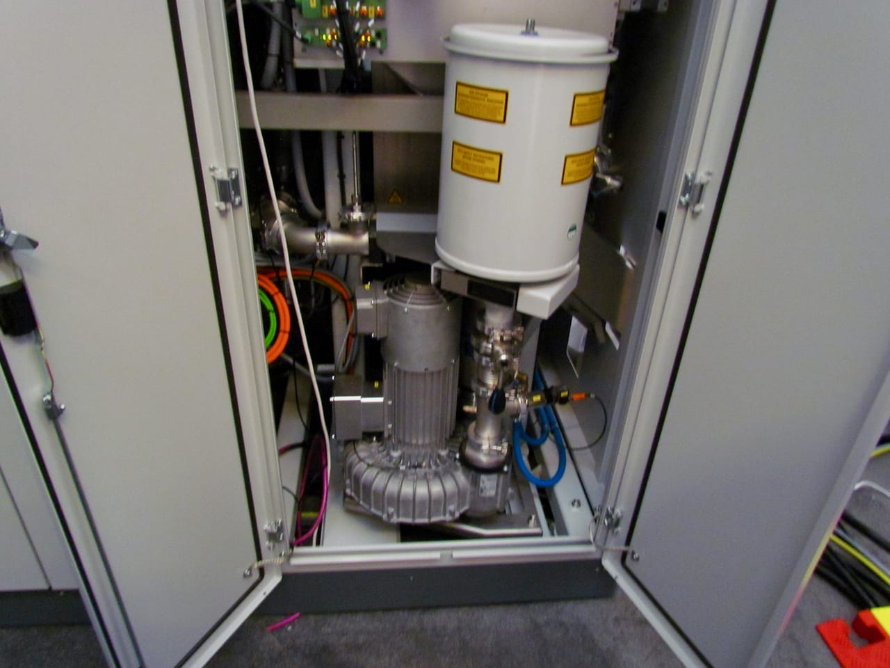 SLM Solution's newly upgraded gas pump system