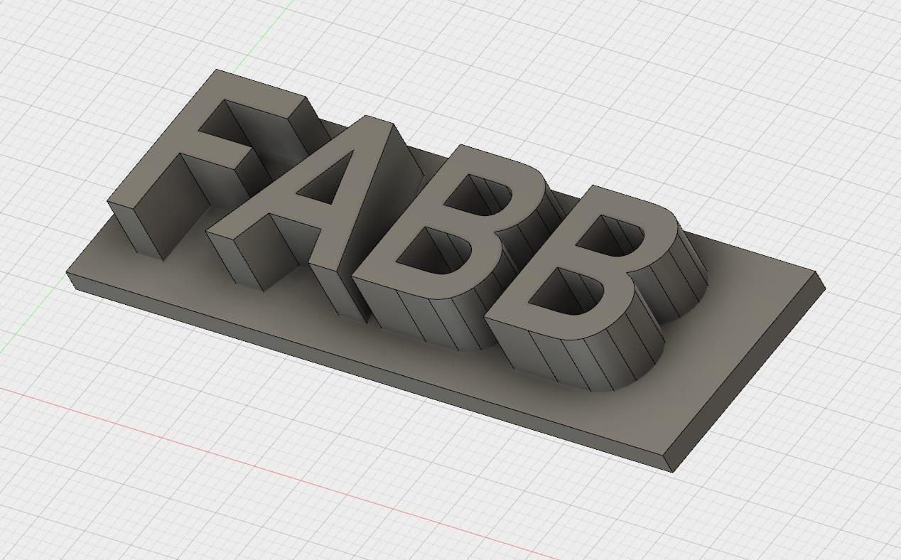 Letter positions can be fixed by adding a bottom plate