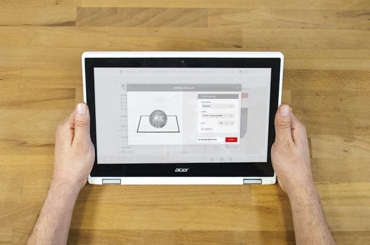 Accessing MakerBot's ecosystem via Chromebook