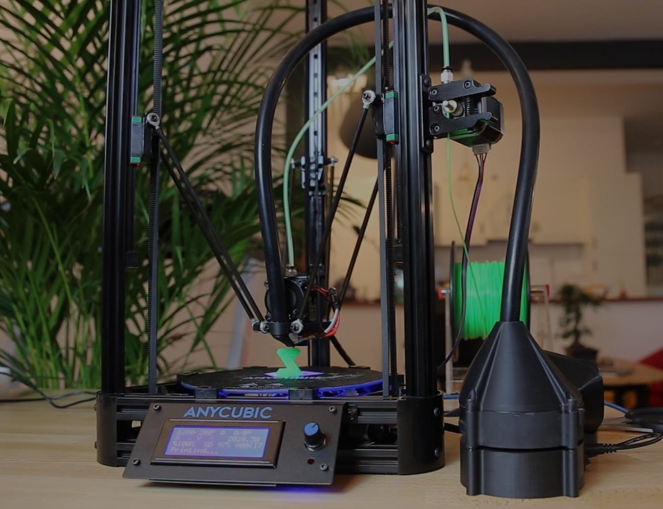 The Zimpure air filtration 3D printer accessory