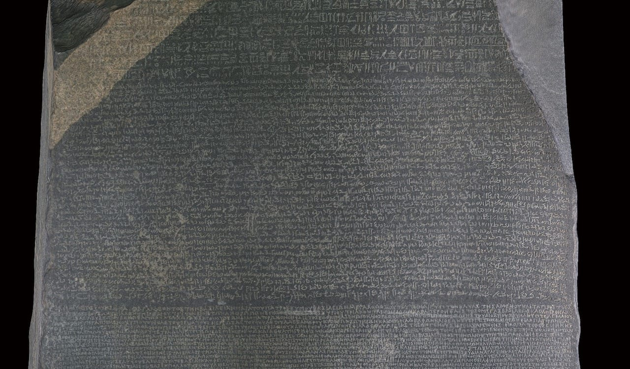 Failing to 3D print the Rosetta Stone