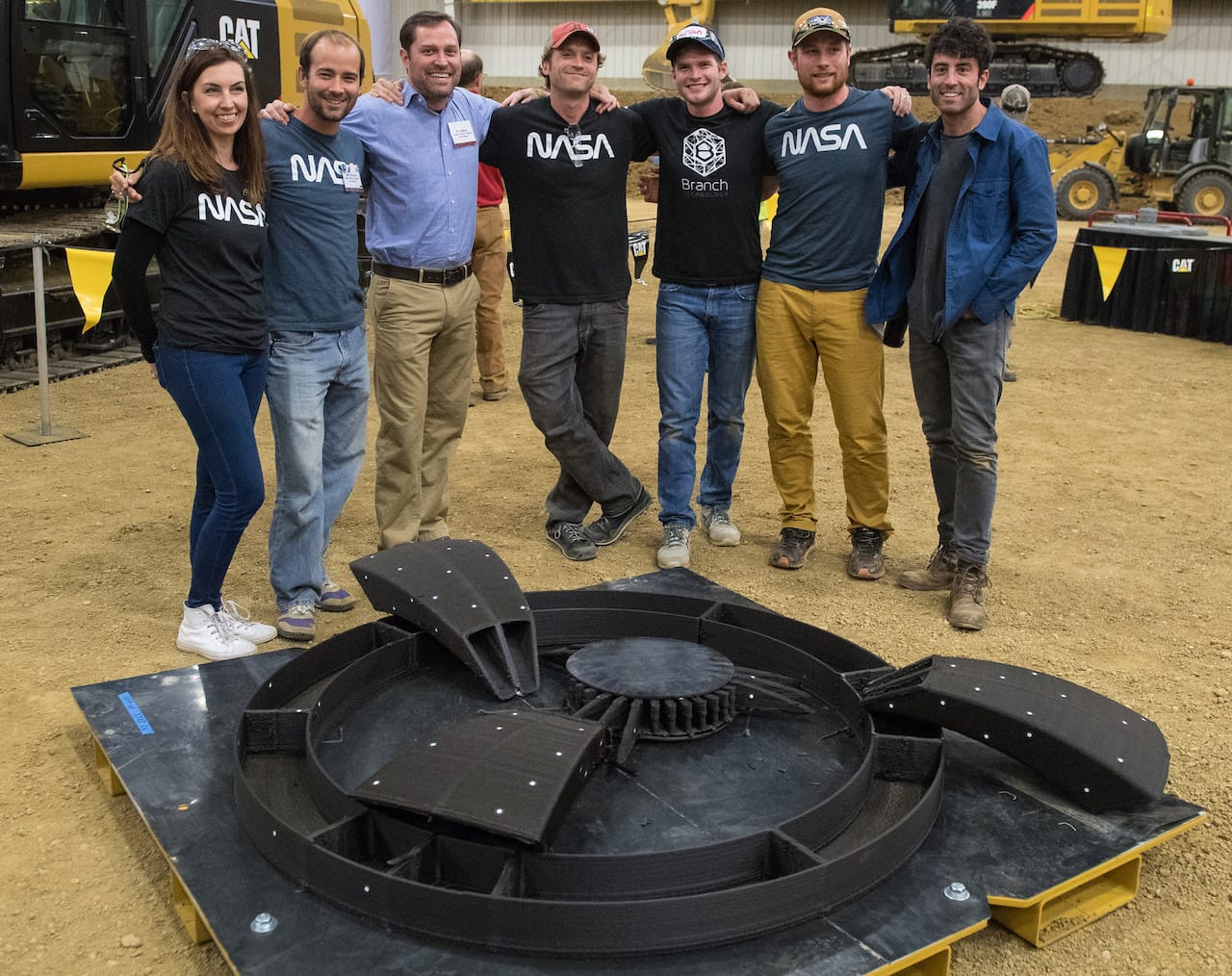 The winners of the latest phase in NASA's ongoing 3D Printed Challenge.