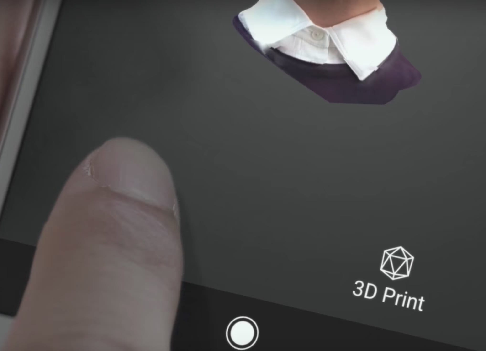 Could 3D scan to print on mobile devices become a thing?
