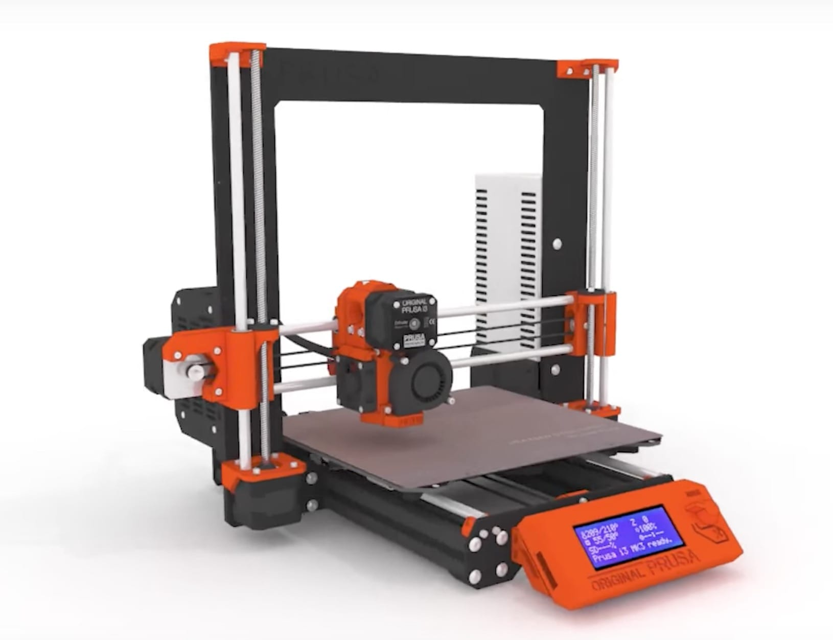 The all-new Original Prusa i3 MK3 desktop 3D printer, with many new features
