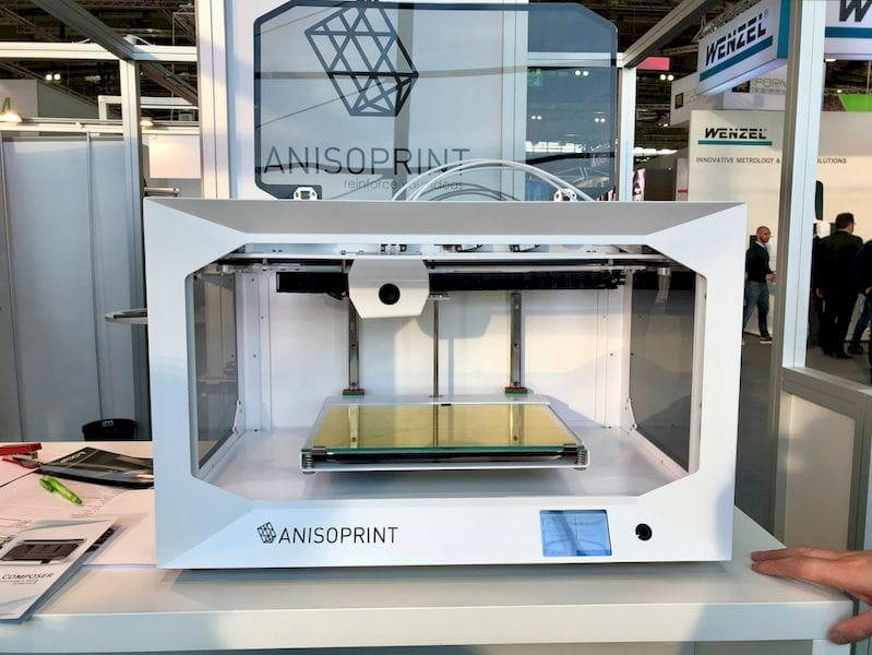 The Anisoprint Composer can 3D print full strands of carbon fiber
