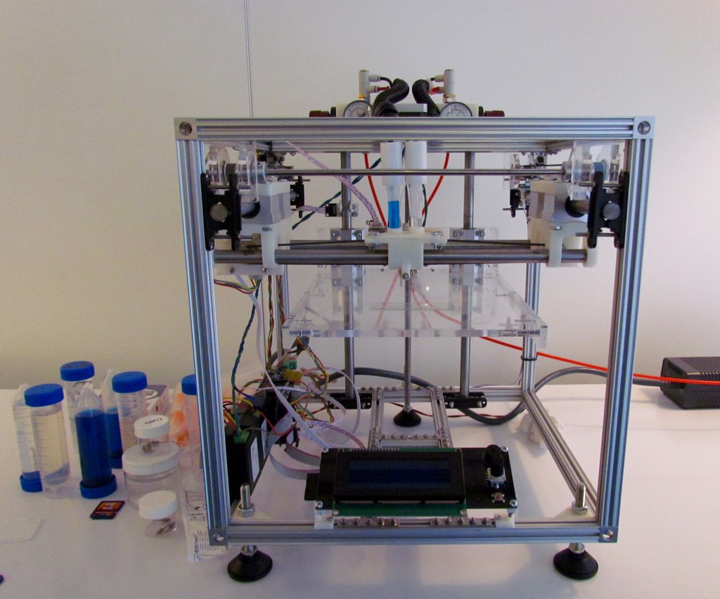 A research bioprinter