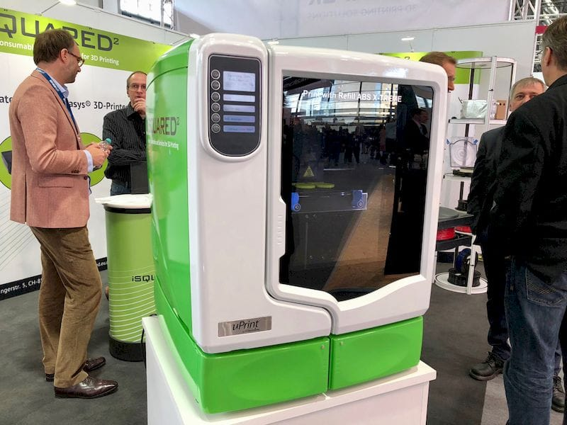 iSQUARED offers compatible materials for some Stratasys 3D printers