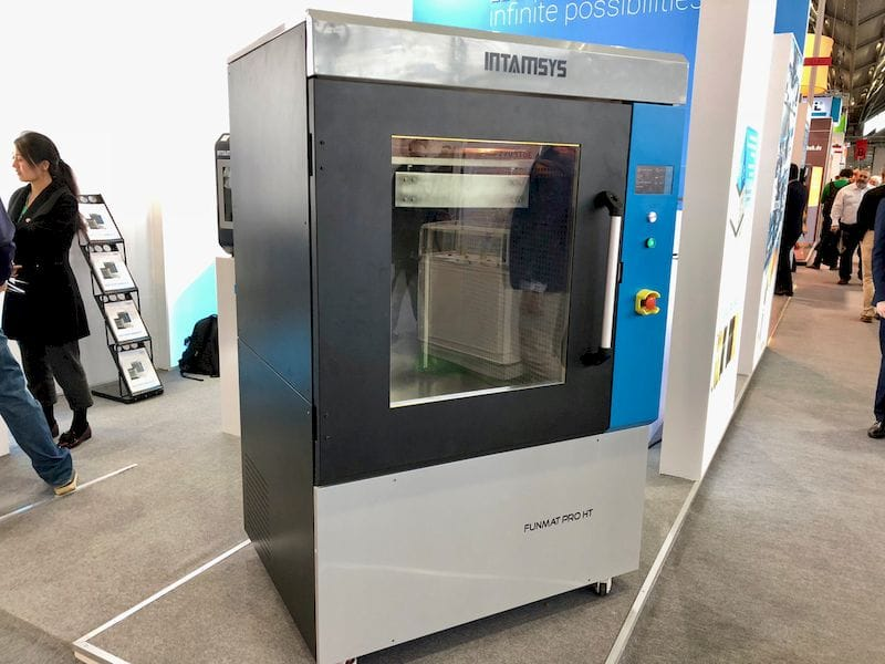 The large-sized FUNMAT PRO HT high temperature 3D printer from INTAMSYS