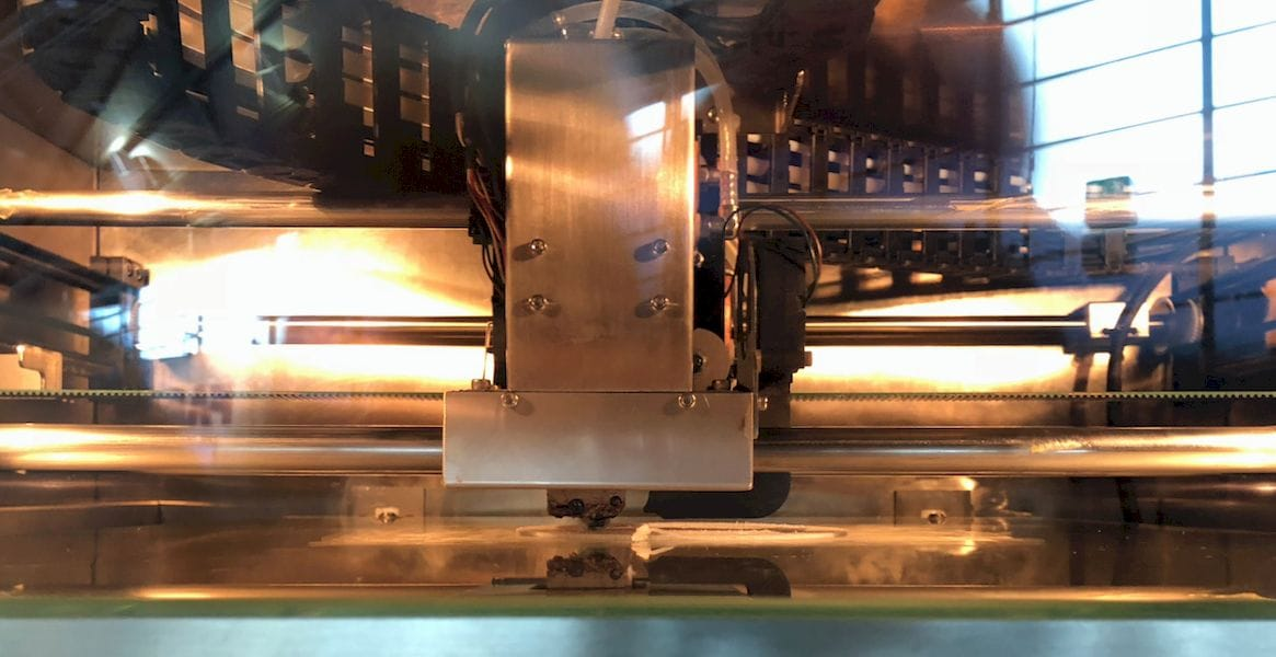 Inside the robust INTAMSYS FUNMAT PRO HT 3D printer