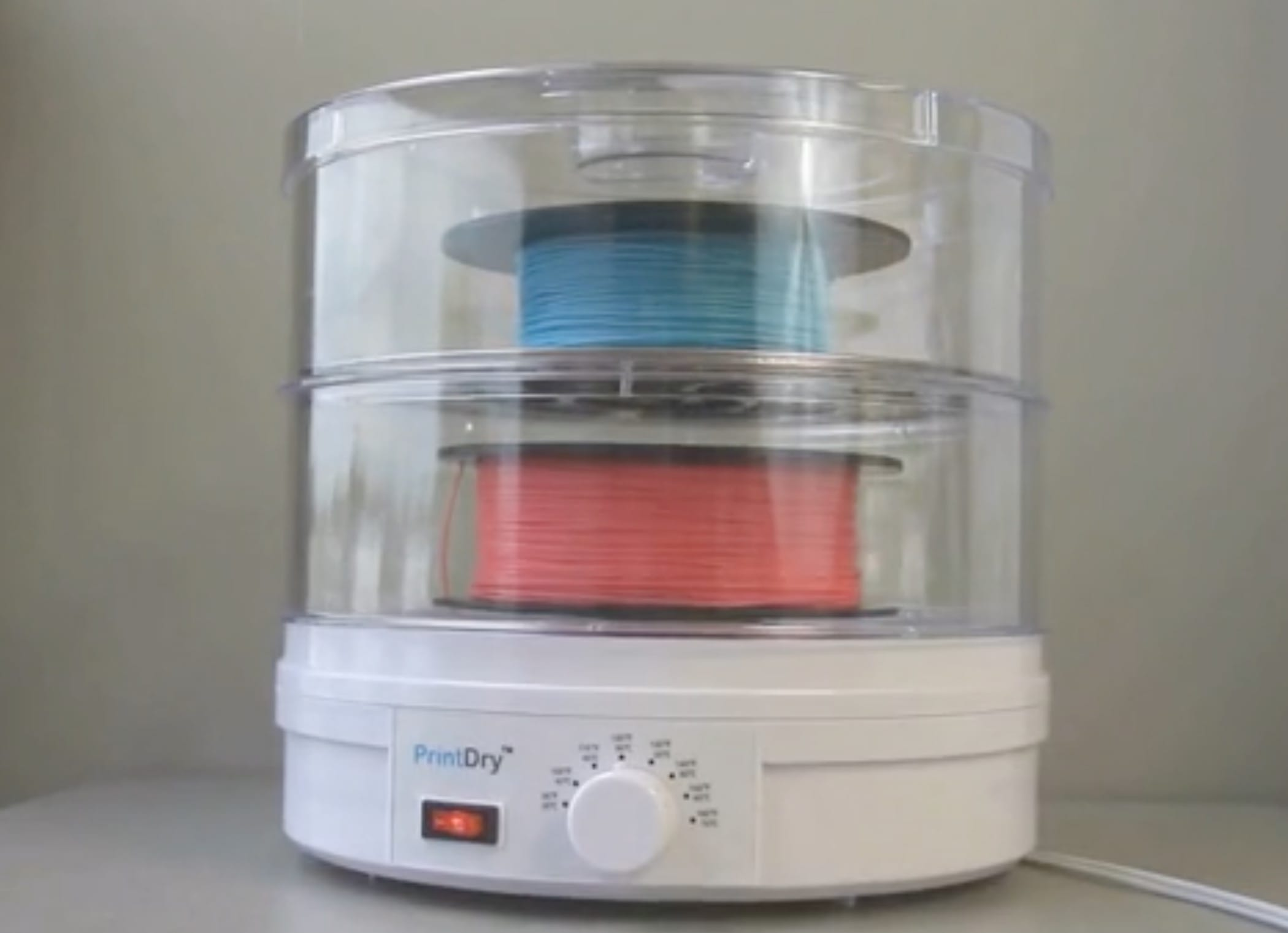The PrintDry, a filament-drying 3D printing accessory