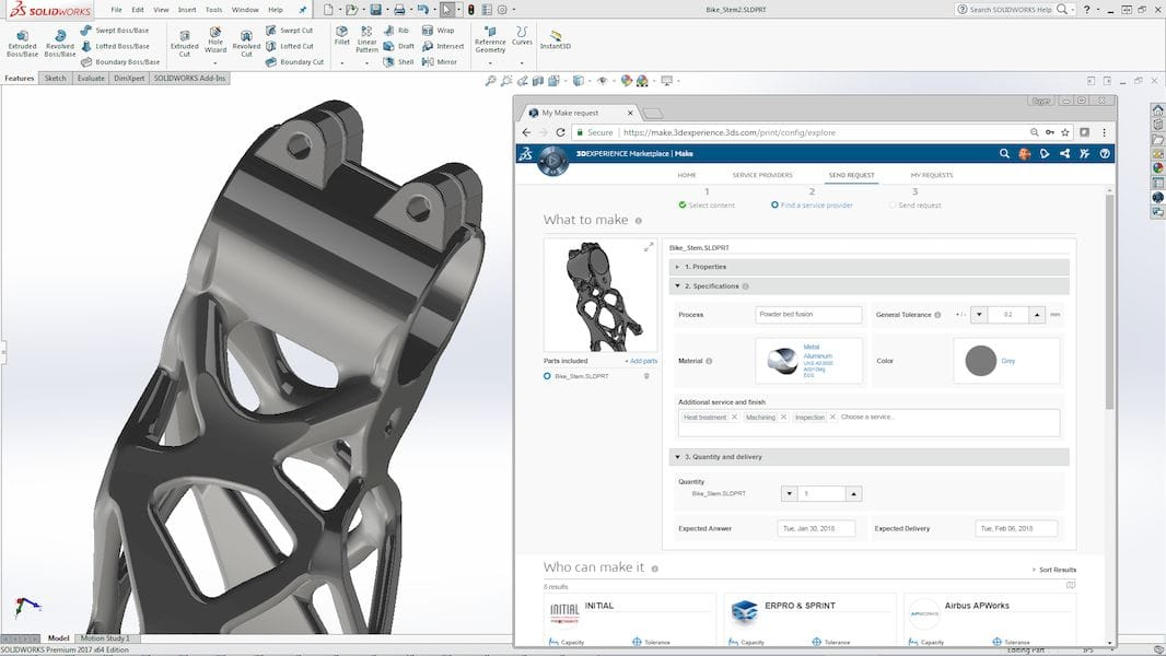 3DEXPERIENCE Marketplace Make