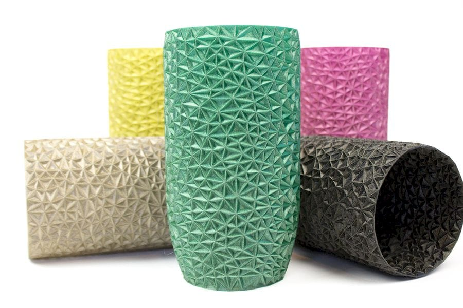 Beautiful 3D prints using colorFabb's new nGen-LUX material