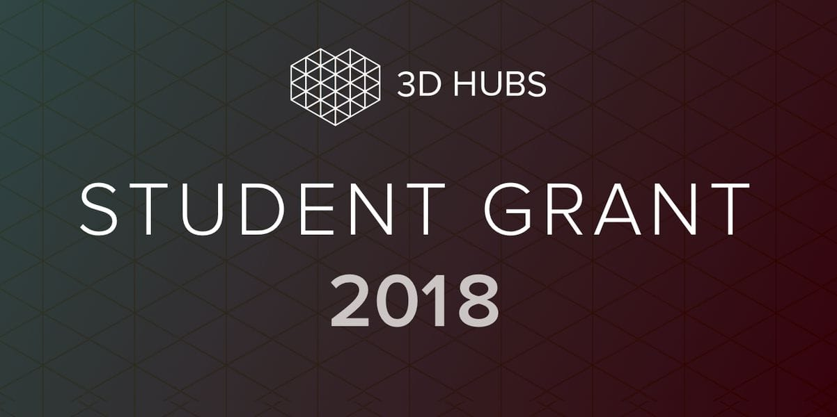 The 3D Hubs Student Grant Program launches