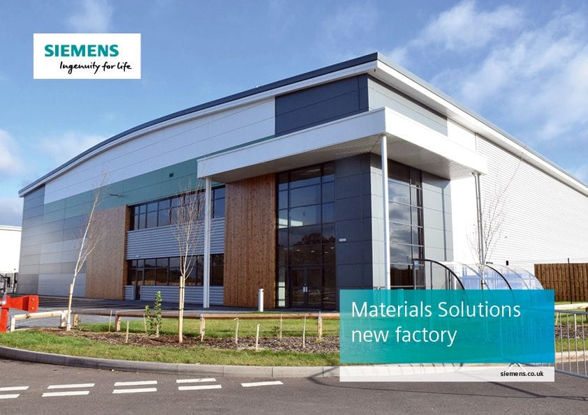Siemens' new plant expansion in the UK