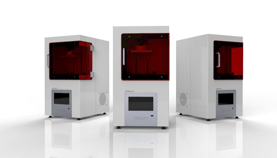 Microlay's new Versus 3D printer