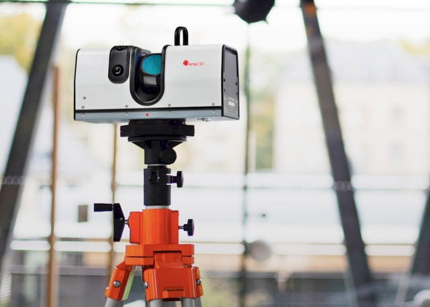 The Artec Ray 3D scanner