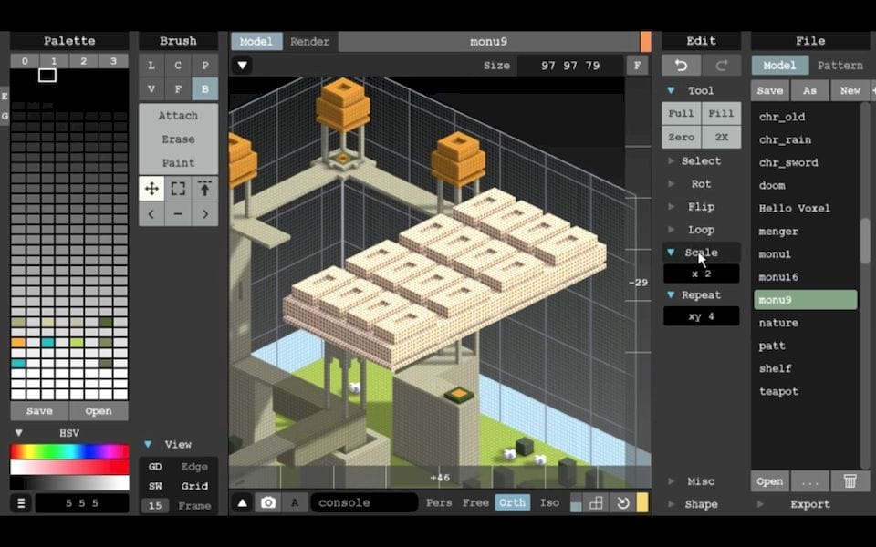 The introductory MagicaVoxel 3D modeling tool