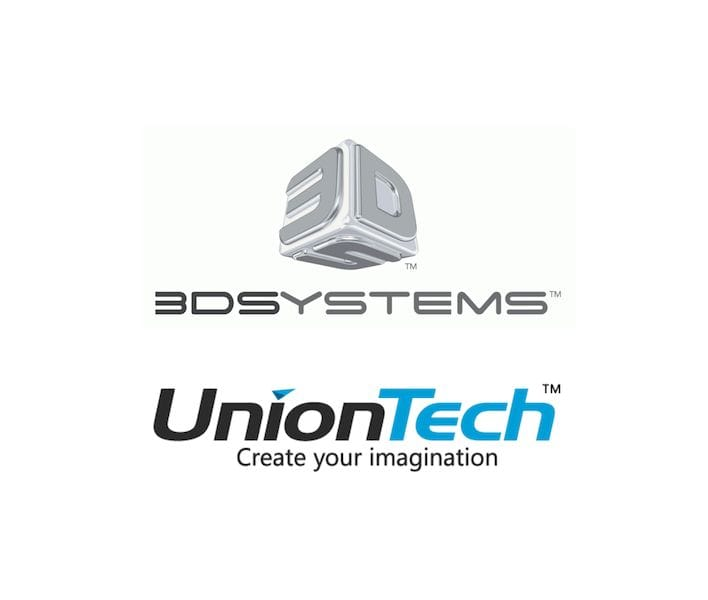 Legal action between 3D Systems and Union Tech