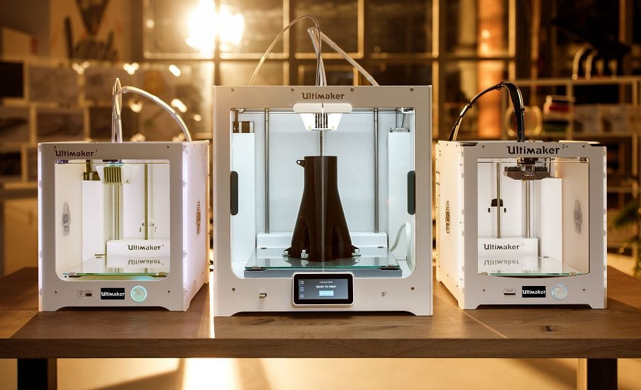 The new Ultimaker S5 professional 3D printer