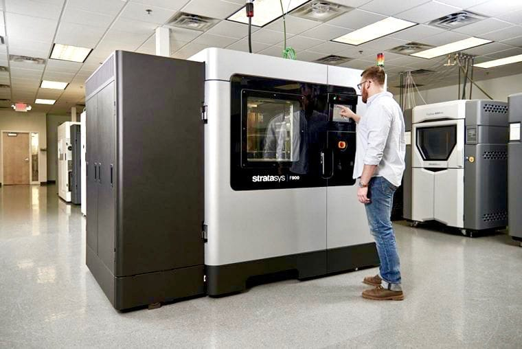The new Stratasys F900 production 3D printer