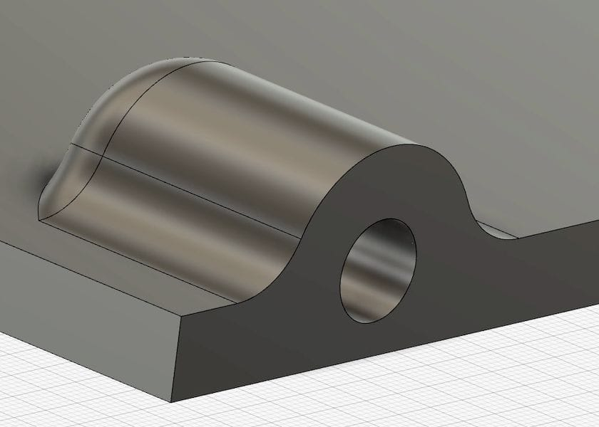 Designing in attachment points directly