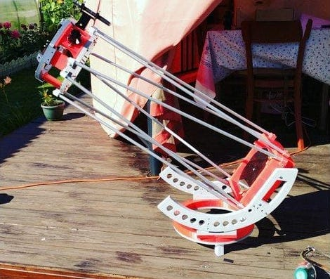 The ABSDBS 3D printable astronomical telescope