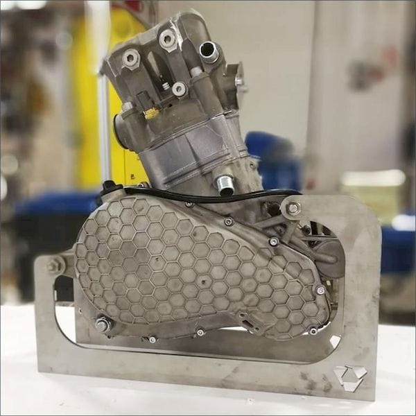 A 3D printed combustion engine