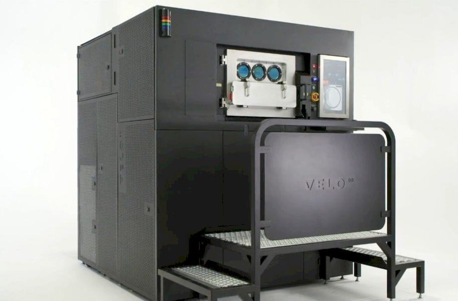 The Velo3D 3D metal printing system [Source: Velo3D]