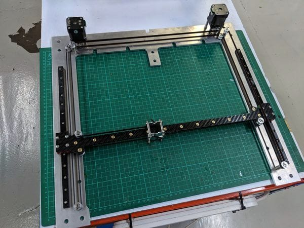 Part of the motion system of E3D's prototype new 3D printer [Source: E3D-Online]