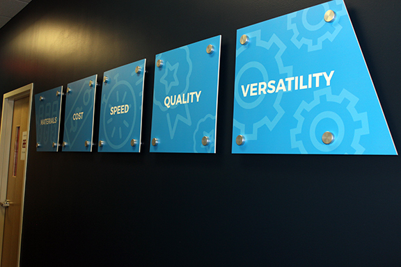 Evolve identified five necessary qualities for manufacturing capabilities [Image: Evolve Additive Solutions]
