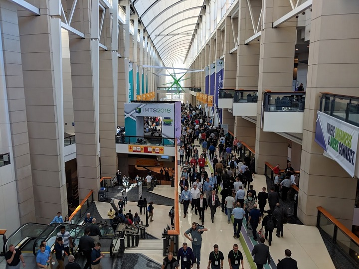 View from above at IMTS 2018