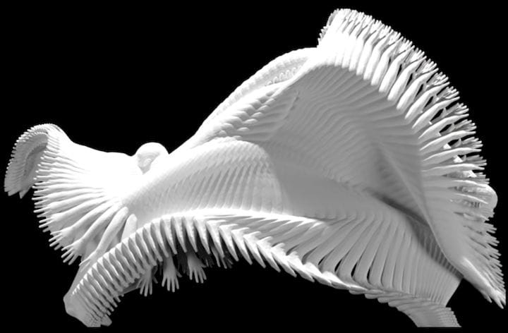 Another 3D printed motion sculpture by MIT researchers [Source: MIT]