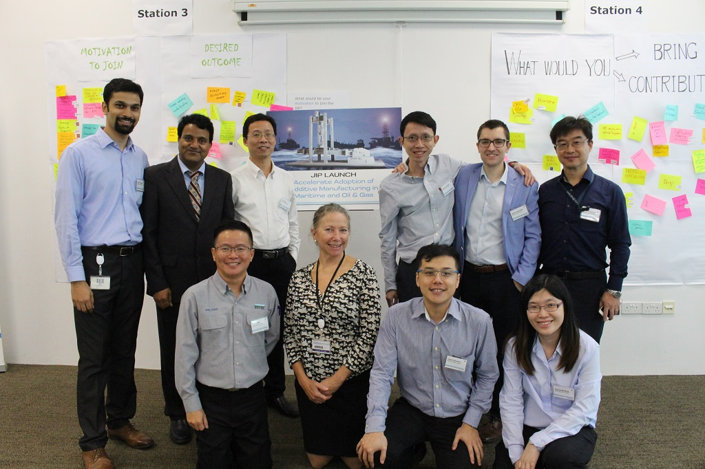 DNV GL's Launch of Joint Industry Project (JIP) on Additive Manufacturing in Singapore [Image: DNV GL]