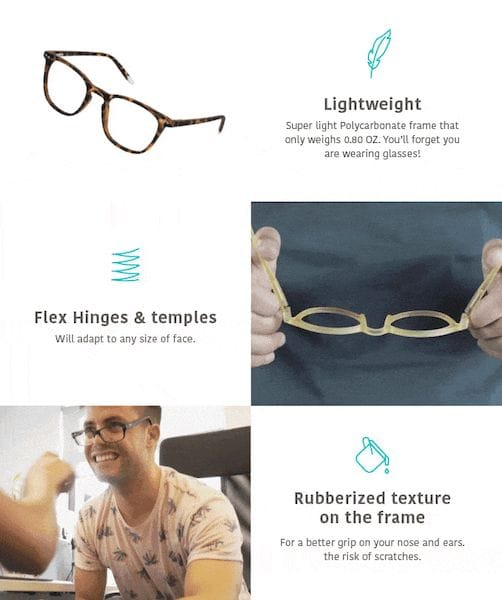 Barner eyewear features [Source: SolidSmack]
