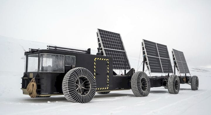 The 3D printed Solar Voyager heads to Antarctica [Source: Clean2Antarctica]