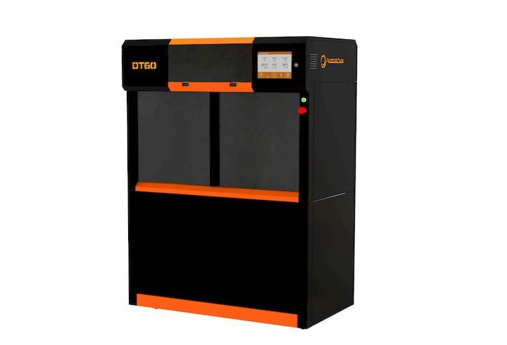 The Dynamical Tools DT60 Industrial 3D printer [Source: Advanced Production Tools S.A]