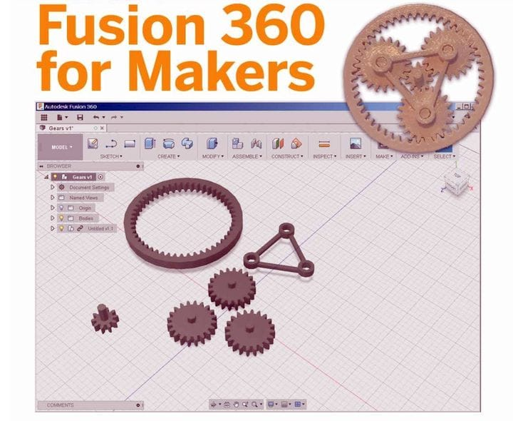 Fusion 360 for Makers [Source: Amazon]
