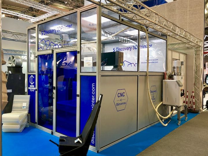 The enormous Super Discovery 3D printer from CNC Barcenas [Source: Fabbaloo]