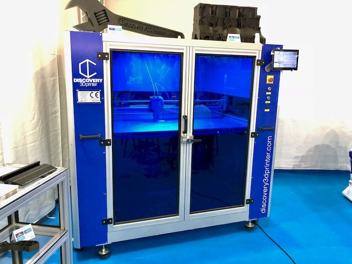 The Discovery industrial 3D printer from CNC Barcenas [Source: Fabbaloo]
