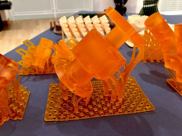 Large solid parts produced on Sisma's Everes 3D printers [Source: Fabbaloo]