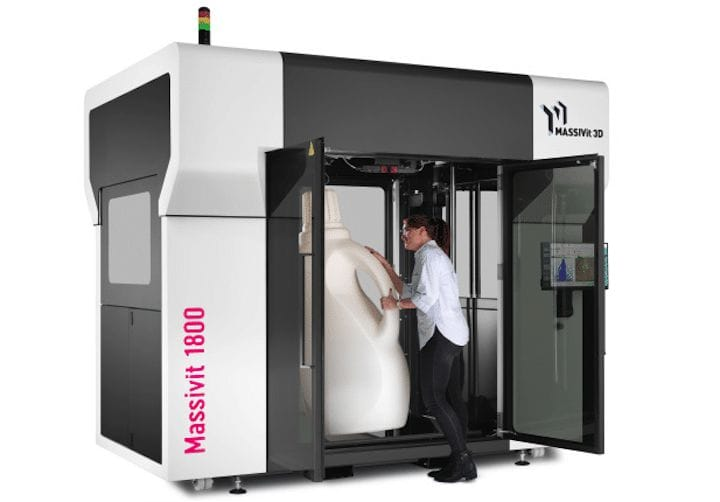 The Massivit 1800 large format 3D printer [Source: Massivit]