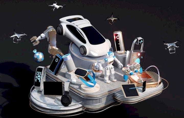 The theme image for CES 2019 [Source: CES]